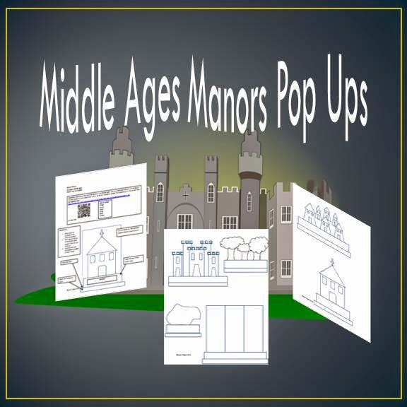 Middle Ages Manor Pop Ups