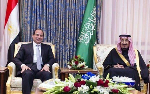 السيسى فى الرياض لبحث مكافحة الارهاب وتعزيز العلاقات الاقتصادية