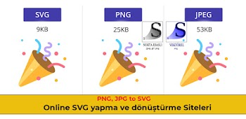 Online JPG, PNG Resimlerini SVG olarak Çevirme (PNG to SVG)