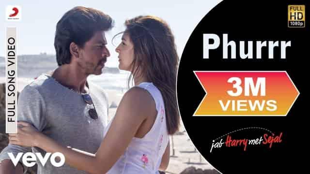 फुर्र Phurrr Lyrics In Hindi - Jab Harry Met Sejal