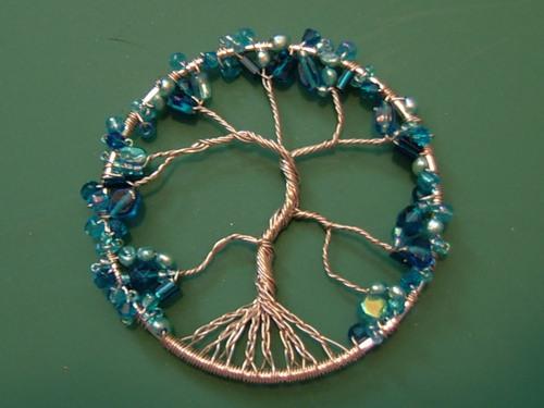 árbol de la vida, árbol, símbolo, celtas, mágico, amuleto, bisutería