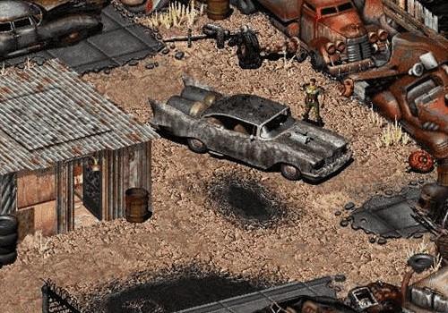 Fallout foi uma série importante para a história dos videogames, e seus gráficos estão muito aquém do que podemos fazer hoje em nossos navegadores.