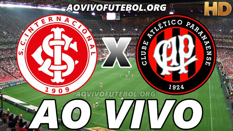 Internacional x Atlético Paranaense Ao Vivo HD Online