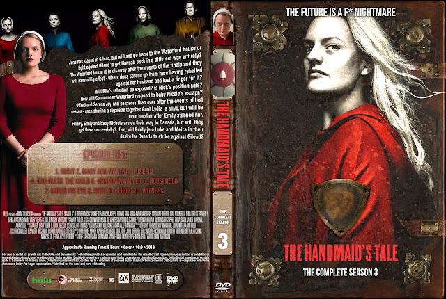 The Handmaid's Tale Season 3 DVD Cover