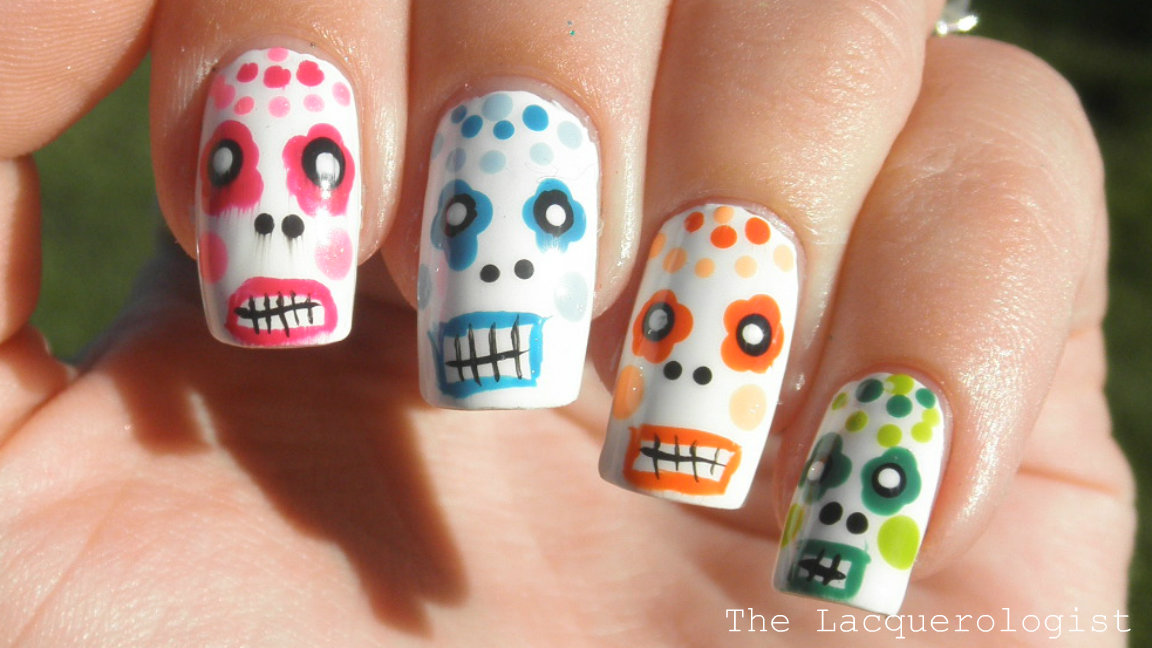31 Day Nail Art Challenge: Day 27 - Inspired by Artwork • Casual ...
