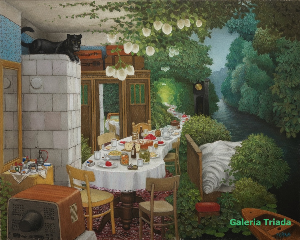 Jacek Yerka Art Collection