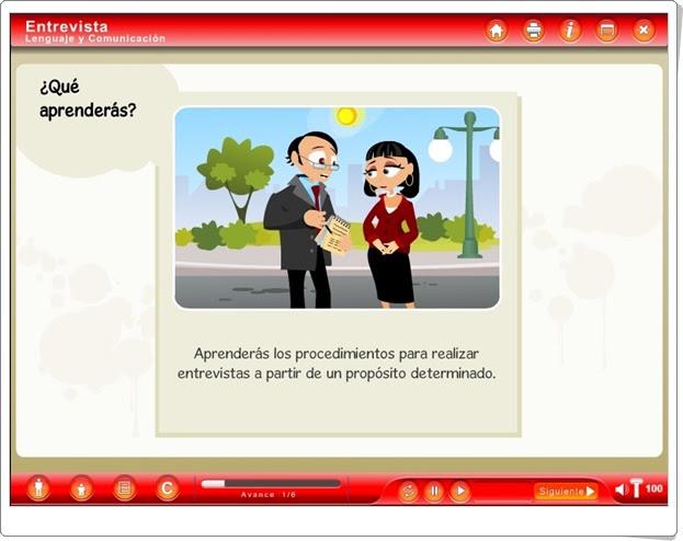 """""""Entrevista"""" (Textos de Lengua Española)"""