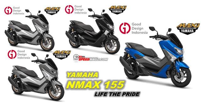 varian Harga Yamaha NMAX 155