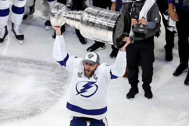 Stamkos wins NHL Stanley Cup