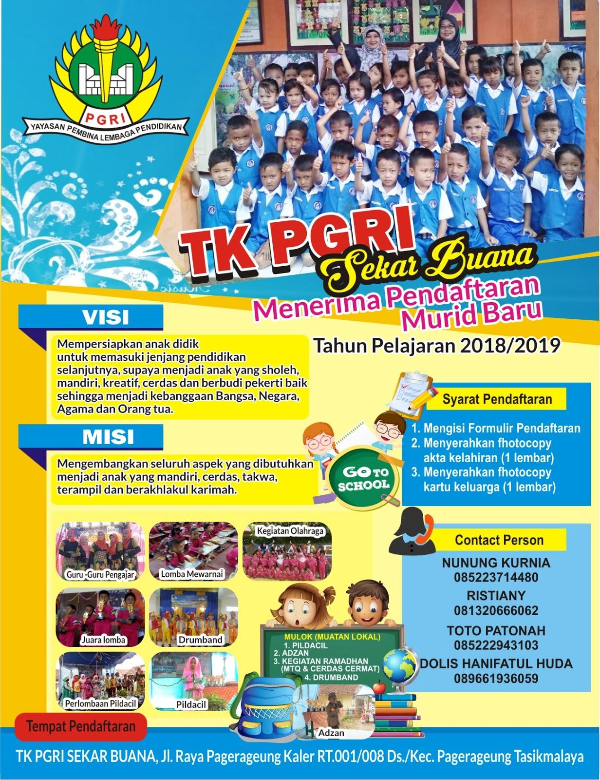 Download Contoh Brosur Penerimaan Siswa Baru Tk Format Cdr Karyaku