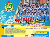 Download Contoh Brosur Penerimaan Siswa Baru TK Format CDR