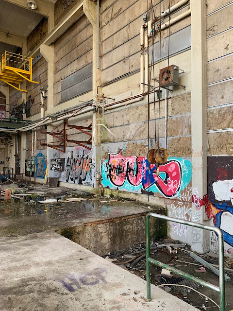 the abandoned gas factory