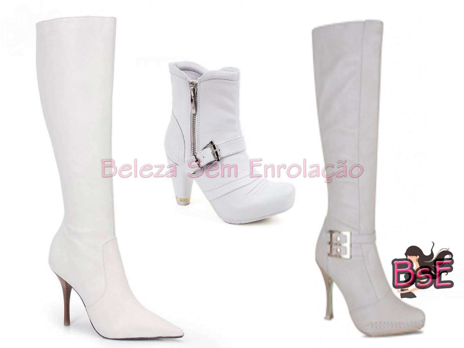 6bab3f953e4 Vocês devem estar se perguntando porque coloquei essa bota branca aqui né   A maioria pode me achar cafona