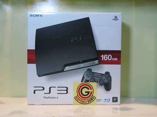 Capsule Game: PS3 Slim 160gb Black (No Jailbreak)