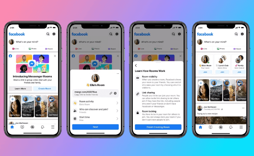 Facebook Launches New Messenger Rooms Feature, Makes It Easier to Make Video Calls