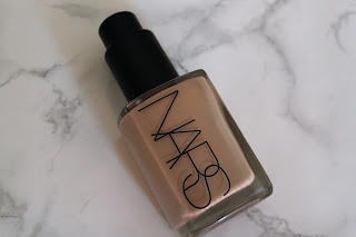 Nars liquid foundation- Sheer Glow Review