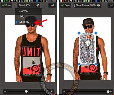 Cara Membuat Tato di PicSay Pro Android