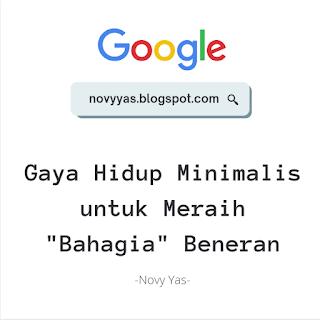 "Gaya Hidup Minimalis untuk Meraih ""Bahagia"" Beneran"