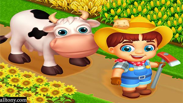 تحميل لعبة المزرعة السعيدة Happy Farm للآيفون والاندرويد