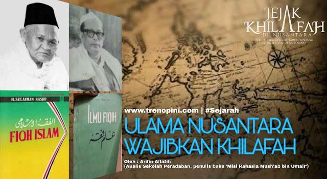 kitab ulama Nusantara tentang Khilafah