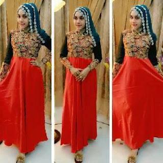 Baju gamis khas aceh trend busana muslim remaja masa kini