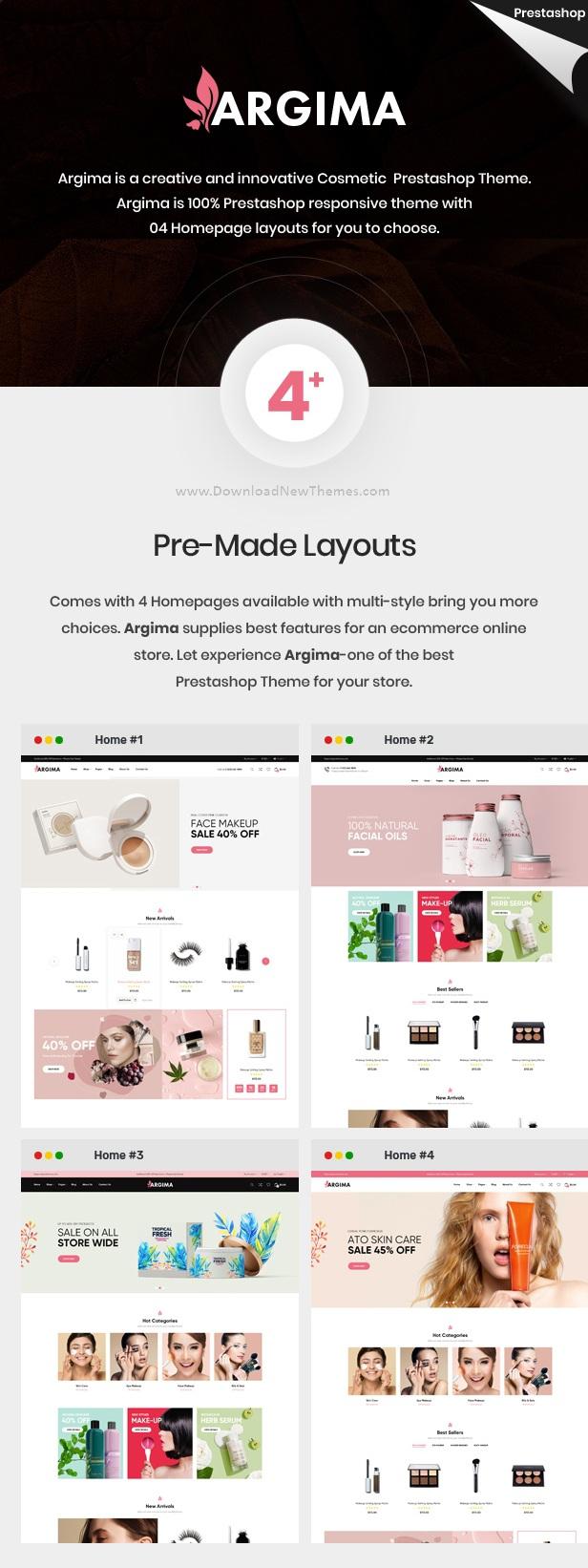 Cosmetics Responsive Prestashop Theme