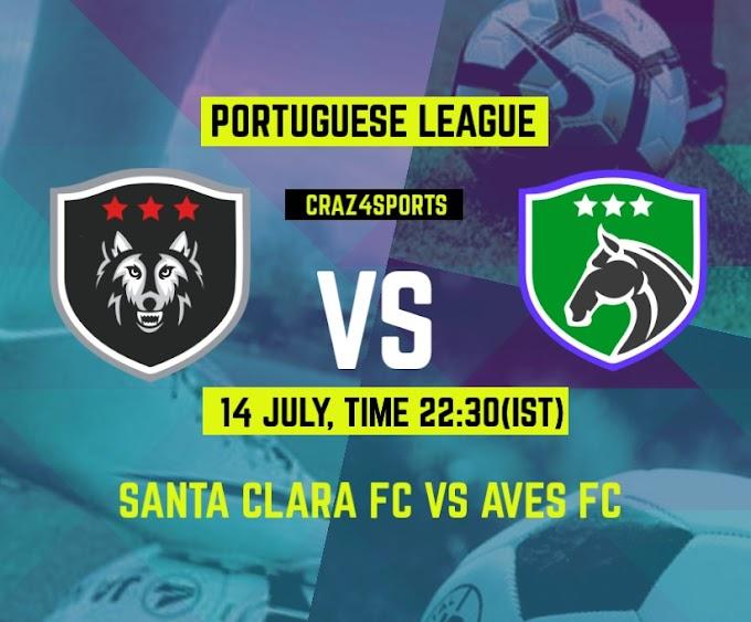 SNT VS AVE Dream11 Prediction, Santa Clara FC vs Aves FC, Portuguese Football League, Players Stats, Top picks, Dream Team