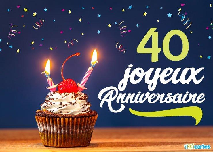 Joyeux Anniversaire 40 Ans.Idees De Fete Anniversaire 40 Ans Pour Les Hommes Et Les Femmes