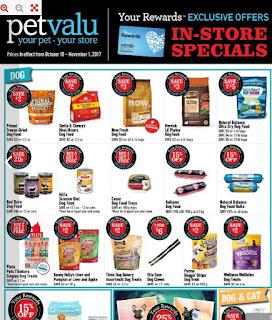 Pet valu Flyer October 10 – November 1, 2017