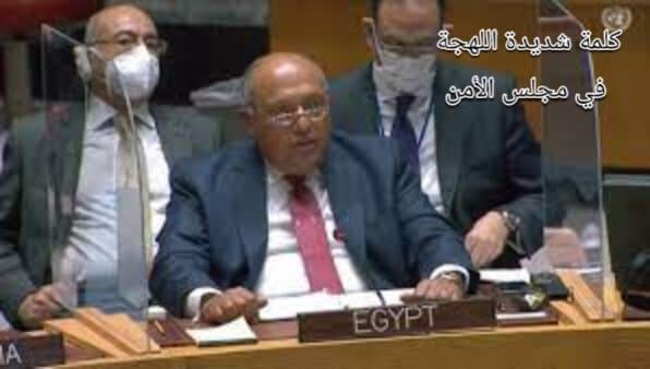 كلمة سامح شكري في الجلسة الافتتاحية لمجلس الأمن تتسم بالقوة