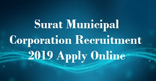 Surat Municipal Corporation Recruitment 2019 Apply Online