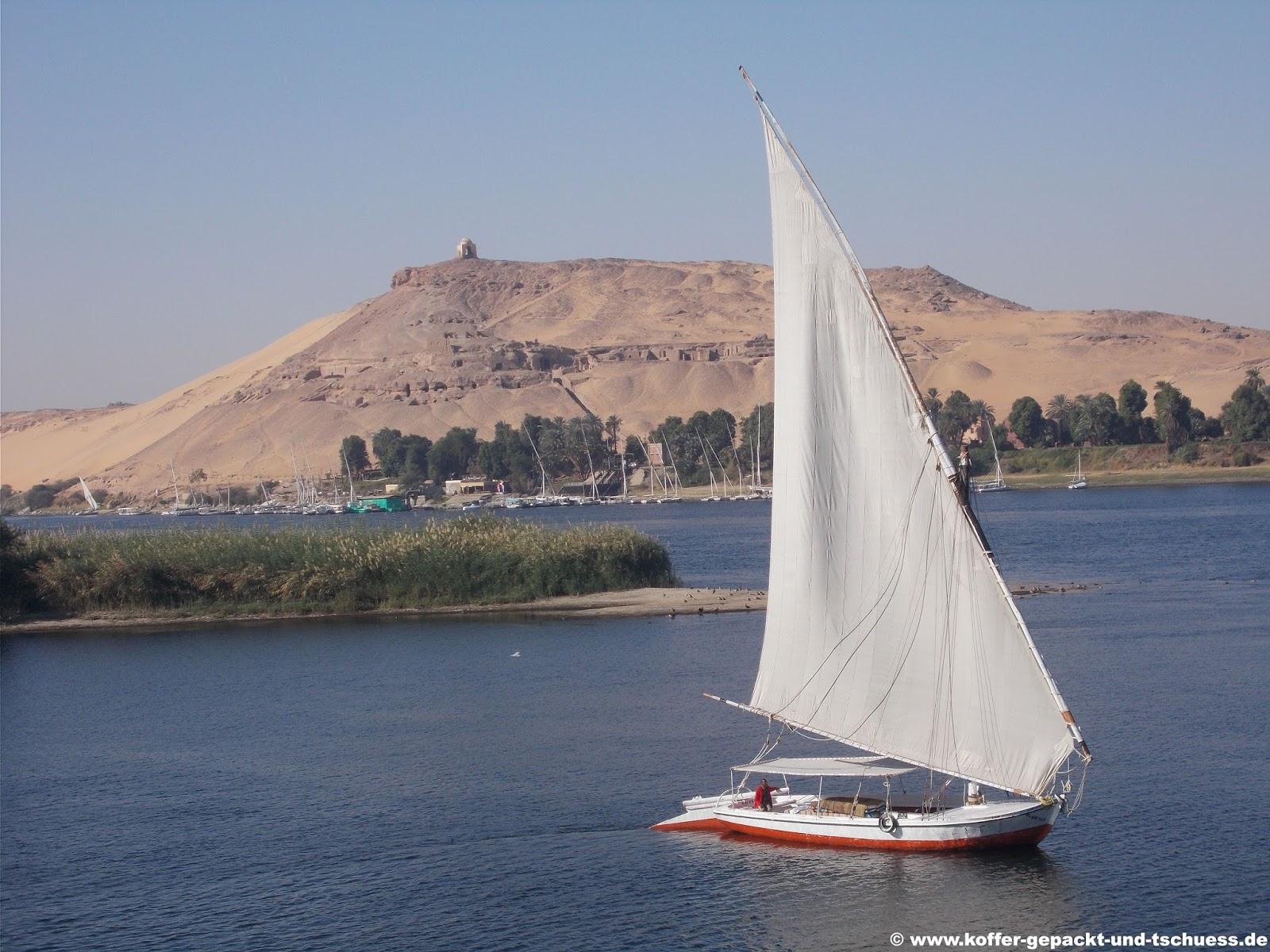 Koffer Gepackt Und Tschuess ägypten Nilkreuzfahrt Und Makadi Bay