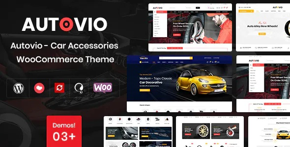Best Car Accessories WooCommerce Theme