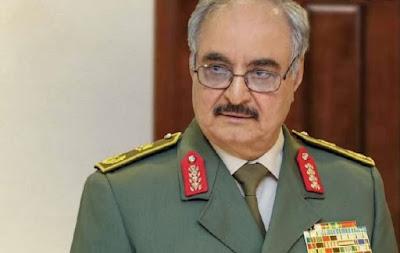 قواة  حفتر تغلق الحدود بين ليبيا و الجزائر..