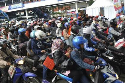 Mudik Gunakan Sepeda Motor, Siap-siap Kena Tilang karena hal ini
