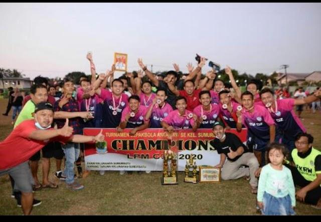 RW 02 FC Juara LPM CUP Sumurbatu Lewat Drama Adu Pinalti