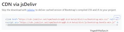 Add Bootstrap 5 In Angular 11 - YogeshHadiya