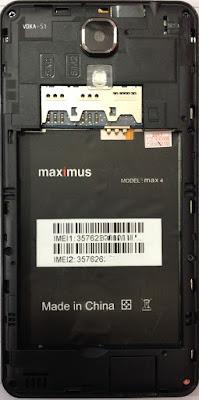 MAXIMUS MAX 4 FLASH FILE