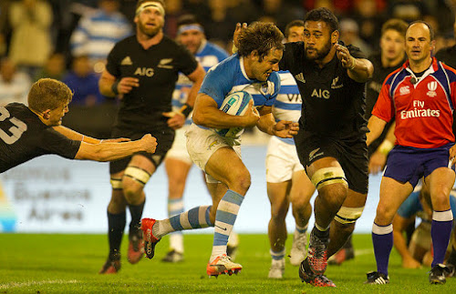 Los Pumas no pudieron ante los All Blacks