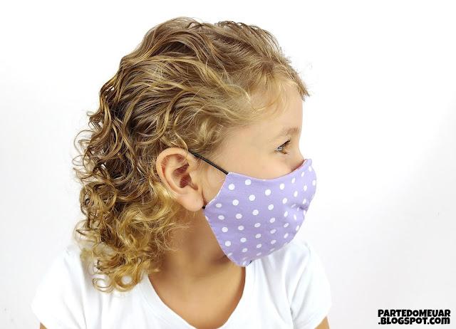 Como fazer máscara infantil
