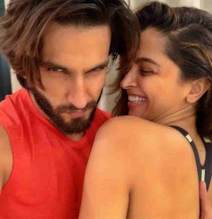 Ranveer Singh With His Wife - Deepika