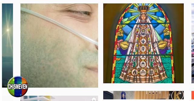 A REZAR | Nacho se encomienda a la Virgen en su Instagram y aparece con Oxígeno