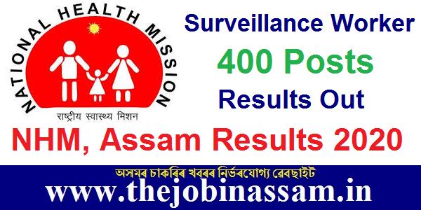 NHM, Assam Results 2020