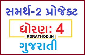 STD 4 Gujarati Samarth 2 Project (Patra Lakhva ni Maja) for Online Shikshak Talim