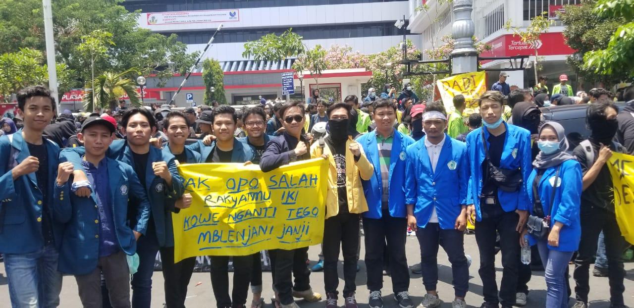 Demo Mahasiswa Semarang