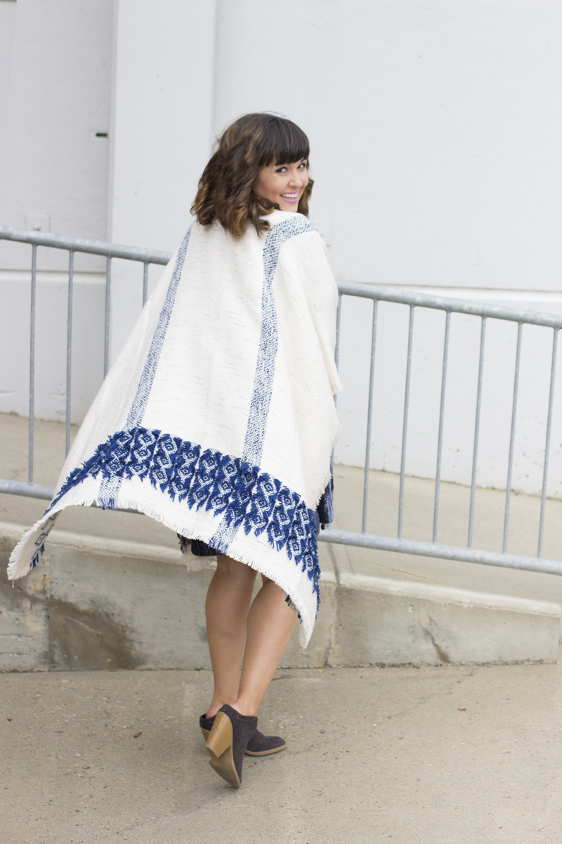 Ponchos and booties