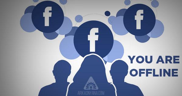 Cara Agar Terlihat Offline di Facebook Pada Saat Online