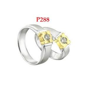 Cincin nikah model unik - cincin nikah harga murah 300an