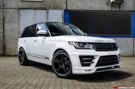 Latest cars of range rover
