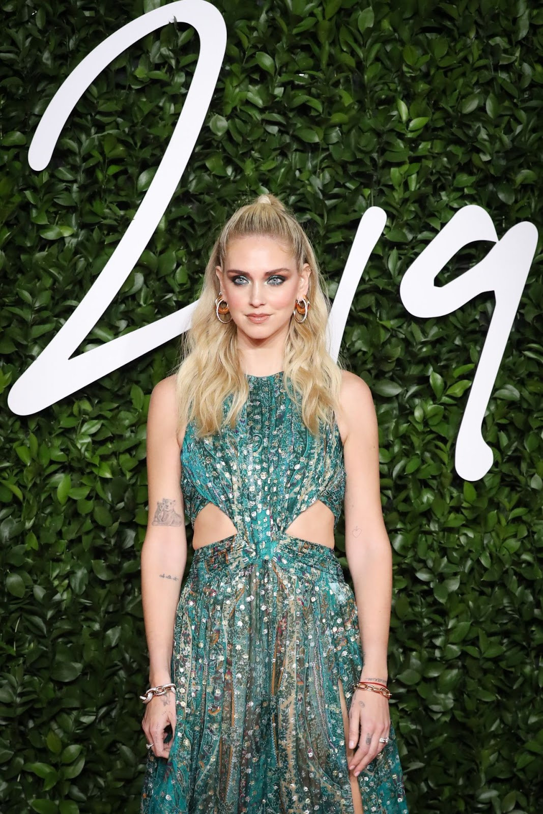 Chiara Ferragni – Fashion Awards 2019 Red Carpet at Royal Albert Hall in London